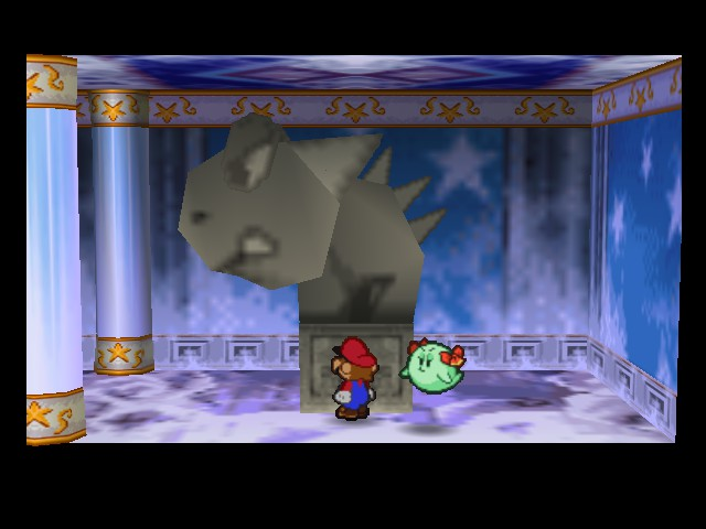 Paper Mario - Location  - Man thats a huge statue - User Screenshot